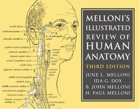 Melloni's Illustrated Review of Human Anatomy 9780521676281