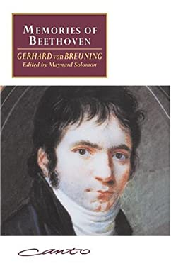Memories of Beethoven: From the House of the Black-Robed Spaniards 9780521417105