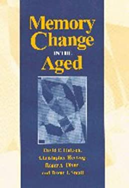 Memory Change in the Aged 9780521473613