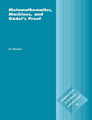 Metamathematics, Machines and Godel's Proof 9780521585330