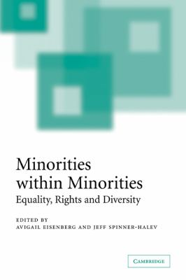 Minorities Within Minorities: Equality, Rights and Diversity 9780521603942