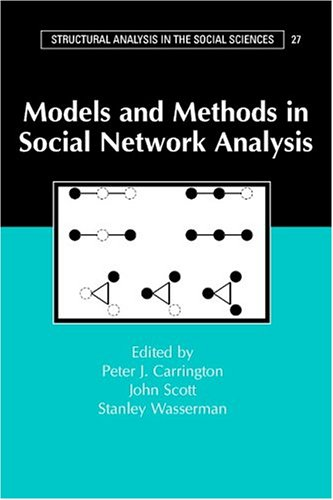 Models and Methods in Social Network Analysis 9780521600972