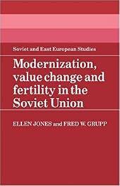 Modernization, Value Change and Fertility in the Soviet Union