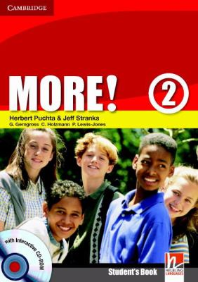 More! Level 2 [With CDROM] 9780521713009
