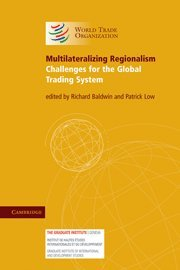 Multilateralizing Regionalism 9780521738101