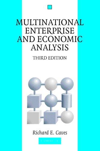 Multinational Enterprise and Economic Analysis 9780521677530