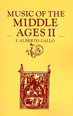 Music of the Middle Ages II 9780521284837