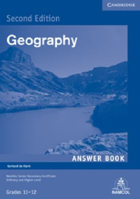 NSSC Geography Student's Answer Book