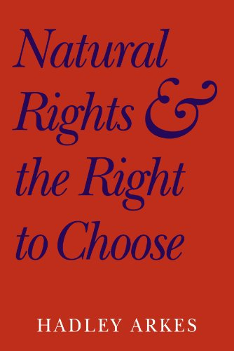 Natural Rights and the Right to Choose 9780521604789