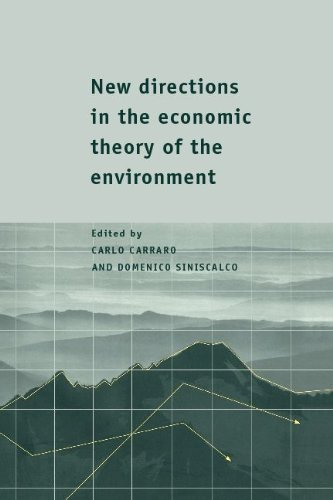 New Directions in the Economic Theory of the Environment 9780521590891