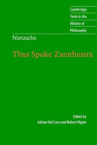 Nietzsche: Thus Spoke Zarathustra
