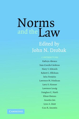 Norms and the Law 9780521680790