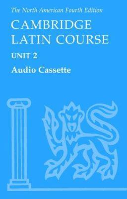 North American Cambridge Latin Course Unit 2 Audio Cassette 9780521005098