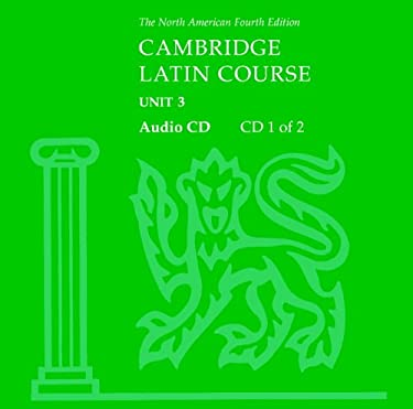 North American Cambridge Latin Course Unit 3 Audio CD 9780521525510
