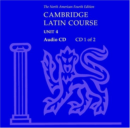 North American Cambridge Latin Course Unit 4 Audio CD 9780521525527