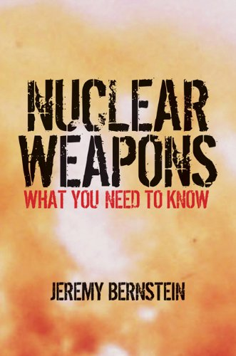 Nuclear Weapons: What You Need to Know 9780521126373