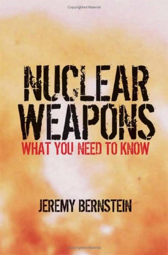 Nuclear Weapons: What You Need to Know 9780521884082