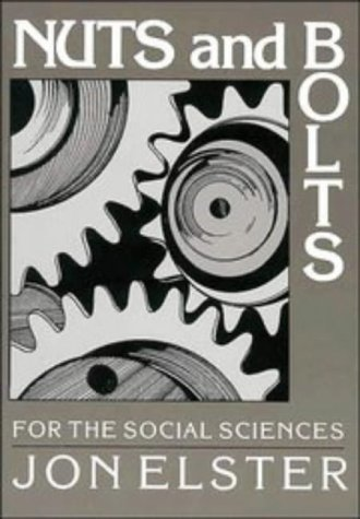 Nuts and Bolts for the Social Sciences 9780521376068