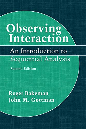 Observing Interaction: An Introduction to Sequential Analysis 9780521574273