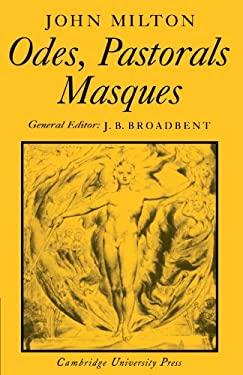 Odes, Pastorals, Masques 9780521204569