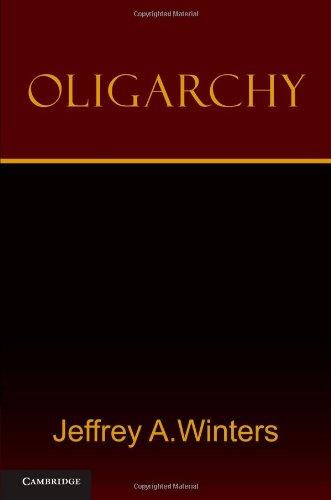 Oligarchy 9780521182980
