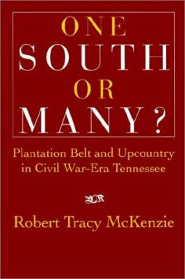 One South or Many?: Plantation Belt and Upcountry in Civil War-Era Tennessee 9780521526111