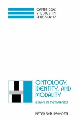 Ontology, Identity, and Modality: Essays in Metaphysics 9780521791649