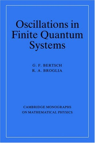 Oscillations in Finite Quantum Systems 9780521411486