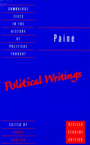 Paine: Political Writings 9780521667999