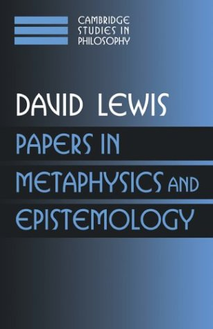 Papers in Metaphysics and Epistemology: Volume 2 9780521582483