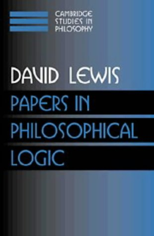 Papers in Philosophical Logic: Volume 1 9780521587884