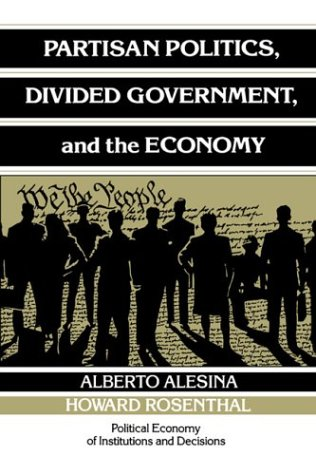 Partisan Politics, Divided Government, and the Economy 9780521436205