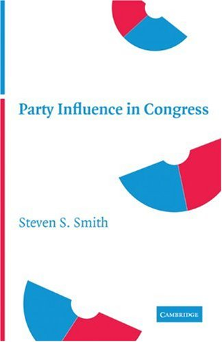 Party Influence in Congress 9780521703871