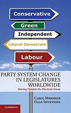 Party System Change in Legislatures Worldwide: Moving Outside the Electoral Arena 9780521765831