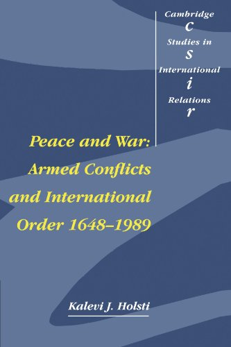 Peace and War: Armed Conflicts and International Order 1648-1989 9780521399296
