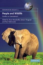 People and Wildlife: Conflict or Coexistence? 1758810