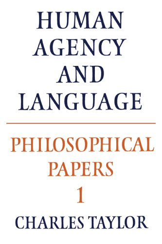 Philosophical Papers: Volume 1, Human Agency and Language 9780521317504