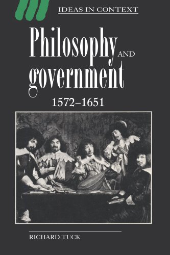 Philosophy and Government, 1572-1651 9780521438858