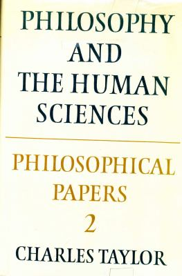 Philosophy and the Human Sciences 9780521267533