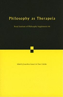 Philosophy as Therapeia 9780521165150