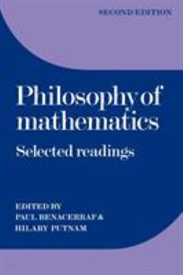 Philosophy of Mathematics: Selected Readings 9780521296489
