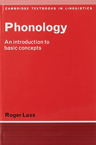 Phonology: An Introduction to Basic Concepts 9780521281836