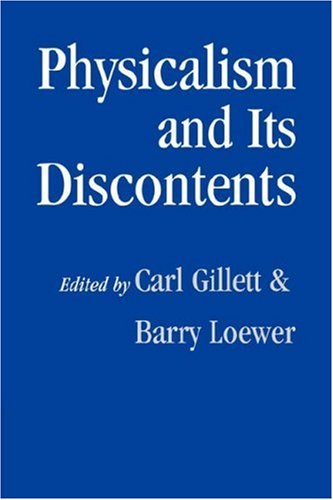 Physicalism and Its Discontents 9780521042123