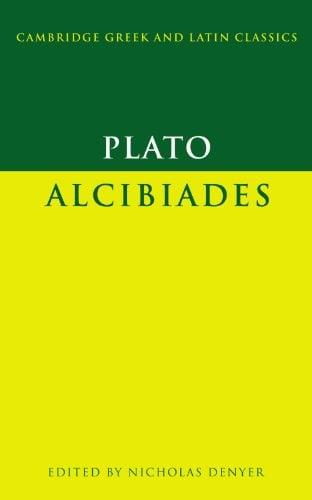 Plato: Alcibiades 9780521634144