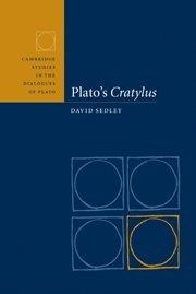 Plato's Cratylus 9780521584920