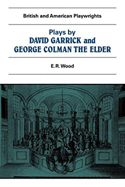 Plays by David Garrick and George Colman the Elder 9780521280570