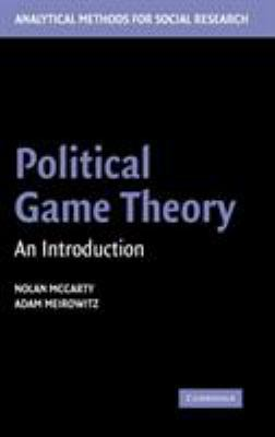 Political Game Theory: An Introduction 9780521841078