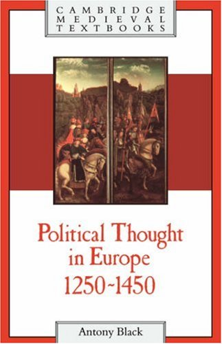 Political Thought in Europe, 1250 1450 9780521384513