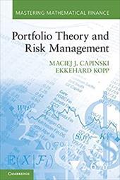 Portfolio Theory and Risk Management 21684307