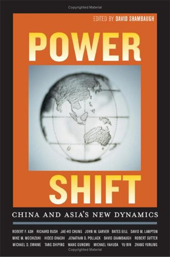 Power Shift: China and Asia's New Dynamics 9780520245709